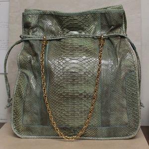 Kate Spade Collect Rio Kylie Green Python Bag